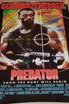 Predator Autographed Poster