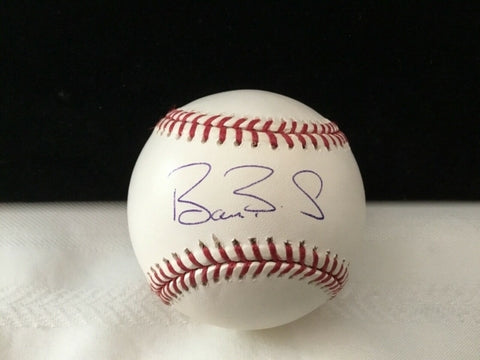 Barry Bonds Hand Signed Pittsburgh Pirates Baseball