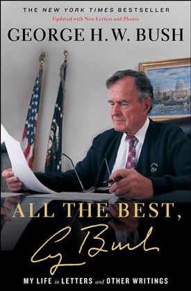 George H.W. Bush Hand Signed Book