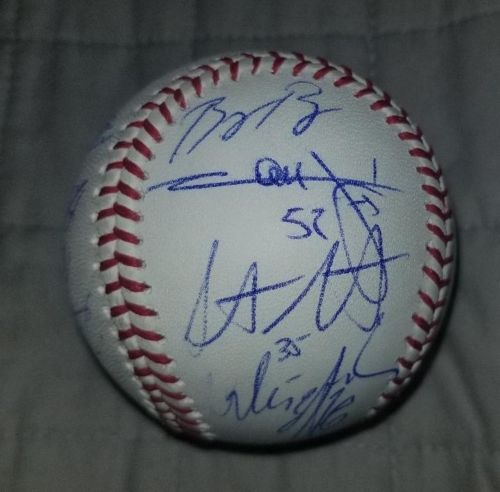 Boston Red Sox Autographed Signed Team Baseball