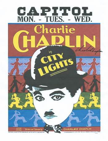 Charlie Chaplin Autographed Signed Poster