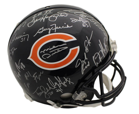 Chicago Bears Autographed Signed Team Helmet