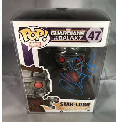 Chris Pratt Hand Signed Funko Pop Guardians of the Galaxy Marvel