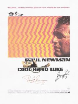 Cool Hand Luke Autographed Poster