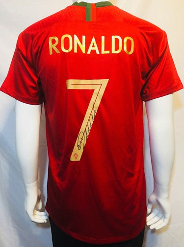 Cristiano Ronaldo Hand Signed Autographed Juventus Jersey