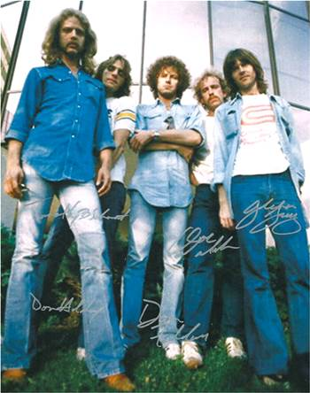 The Eagles Autographed Concert Poster