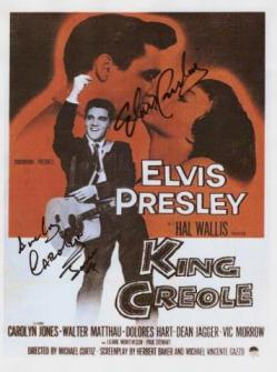 Elvis Presley Autographed Movie Poster