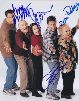Everybody Loves Raymond Doris Roberts Hand Signed Poster