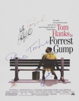 Forrest Gump Autographed Movie Poster
