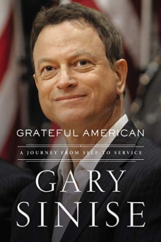 Gary Sinise Grateful American Hand Signed Book
