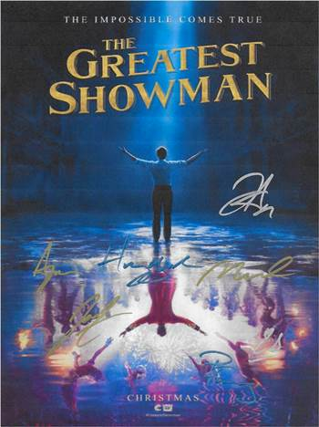 The Greatest Showman Autographed Movie Poster