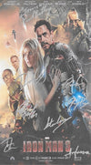 Iron Man Autographed Poster