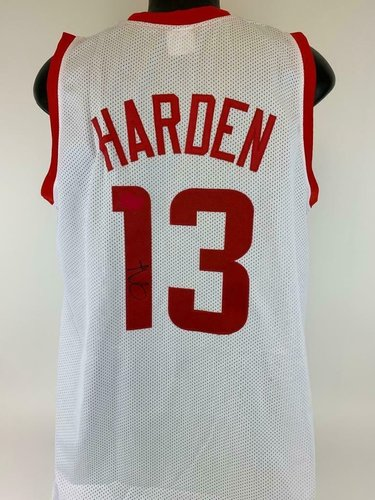 James Harden Houston Rockets Signed Jersey