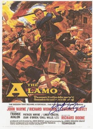 John Wayne Autographed Movie Poster