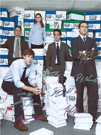 The Office Autographed Poster