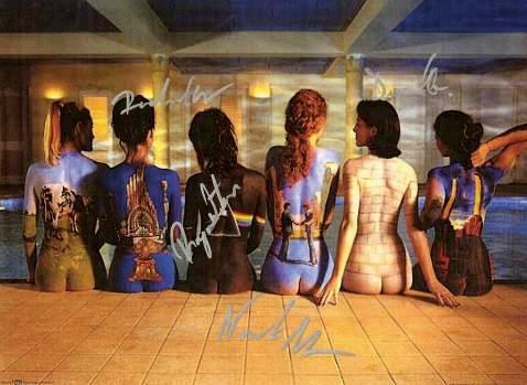 Pink Floyd Autographed Poster
