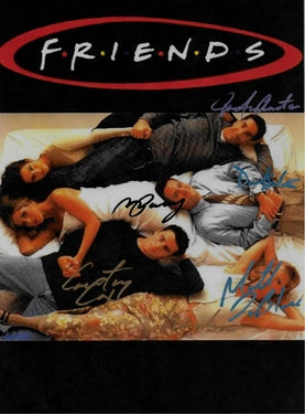 Friends Autographed TV Poster