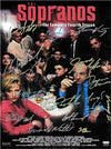 Sopranos Autographed TV Poster