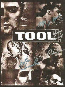Tool Autographed Poster