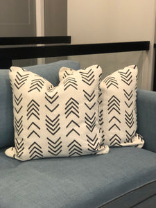 "20"" x 20"" Boho Arrows Decorative Throw Pillow Cover"