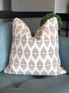 "20"" x 20"" Boho Diamond Decorative Throw Pillow Cover"