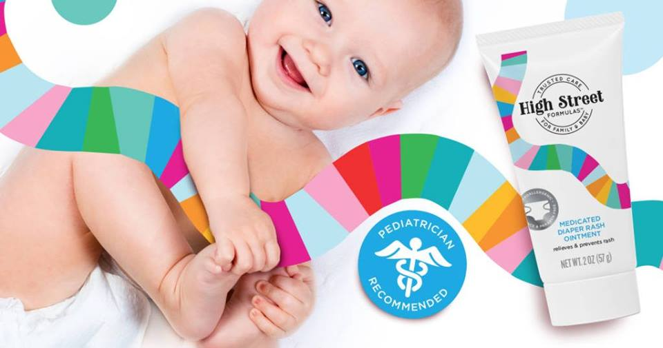 High Street Formulas - The Best Baby Diaper Rash Cream Made in the USA