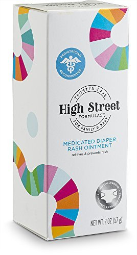 High Street Formulas Diaper Rash Ointment 2oz. Tube box front