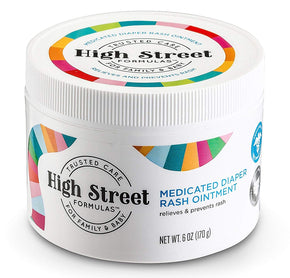 High Street Formulas Diaper Rash Ointment 6oz. Jar