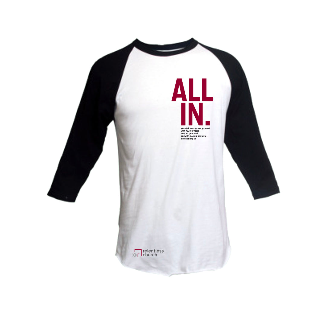 All In Baseball Tee