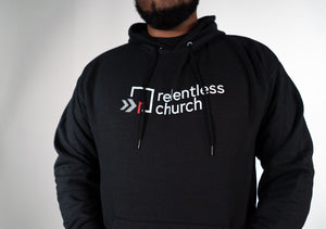 Adult - Relentless Black Hoodie