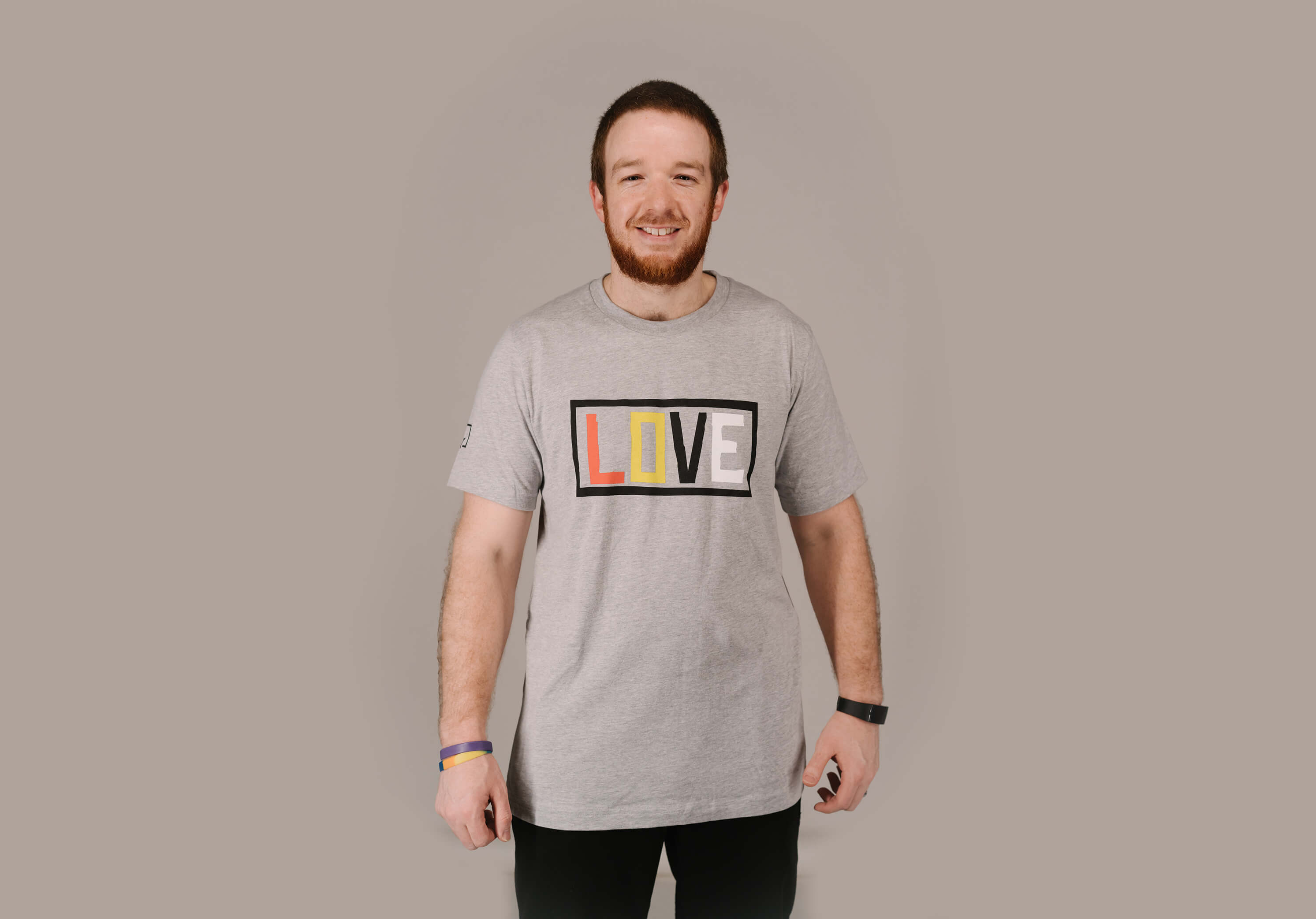 Adult - LOVE short sleeve T-shirt