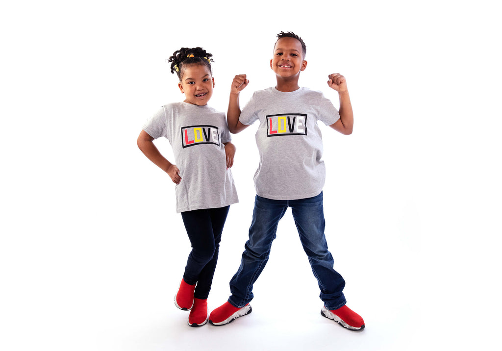 KIDS - LOVE Short Sleeve T-shirt