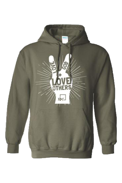 Love God, Love Others Hoodie