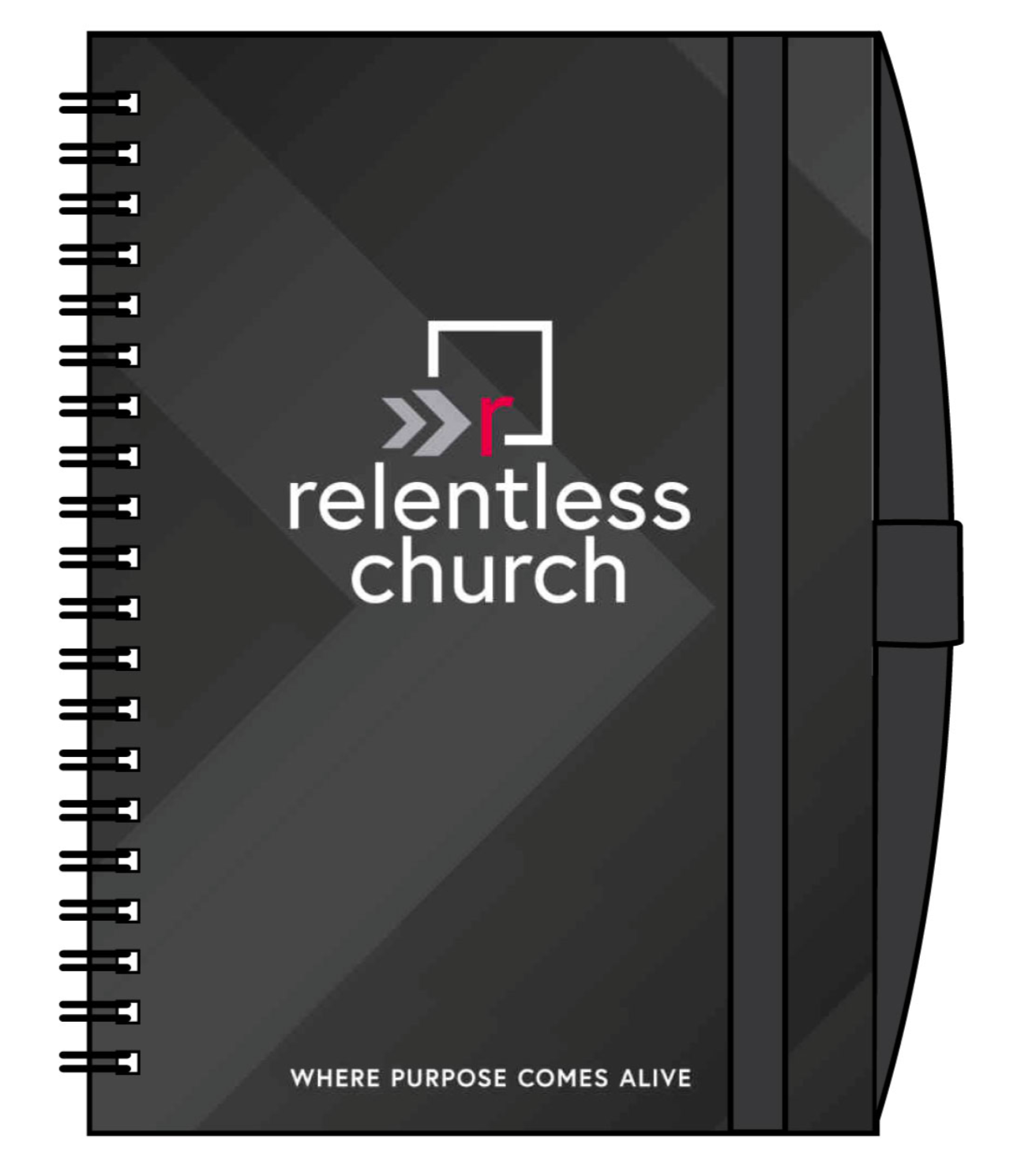 Relentless Arrows Notebook