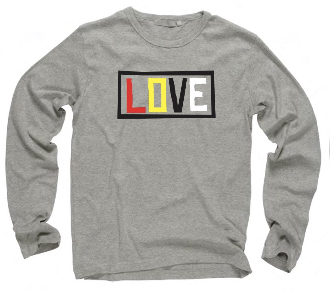 Adult - LOVE Long sleeve T-shirt