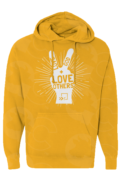 Love God, Love Others Hoodie YOUTH