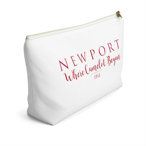"Newport ""Where Camelot Began 1953"" - Accessory Pouch w T-bottom"