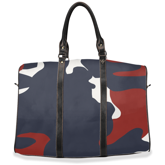 Red White and Blue Camo - Travel Bag