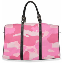 "Load image into Gallery viewer, ""La Vie en Rose"" Camo - Travel Bag"