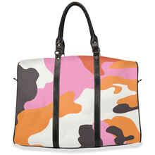 "Load image into Gallery viewer, ""Color me Camo""- Travel Bag"