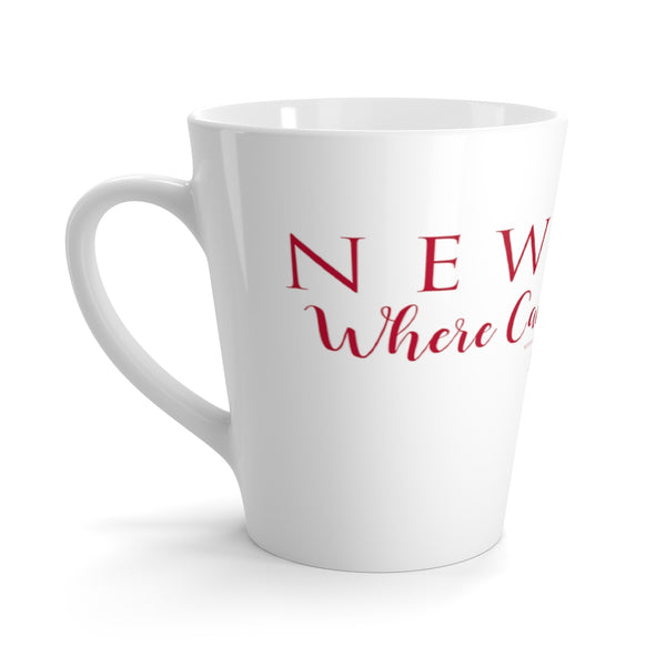 "Newport ""Where Camelot Began 1953""-Latte mug"