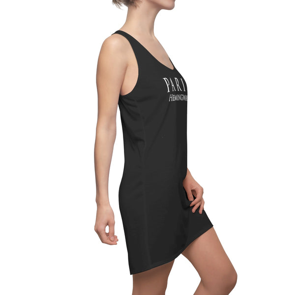 """Paris Hemingway""  - Black Racerback Dress"