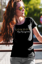 "Load image into Gallery viewer, The London Collection ""Miss Moneypenny"" -Women's short sleeve t-shirt"