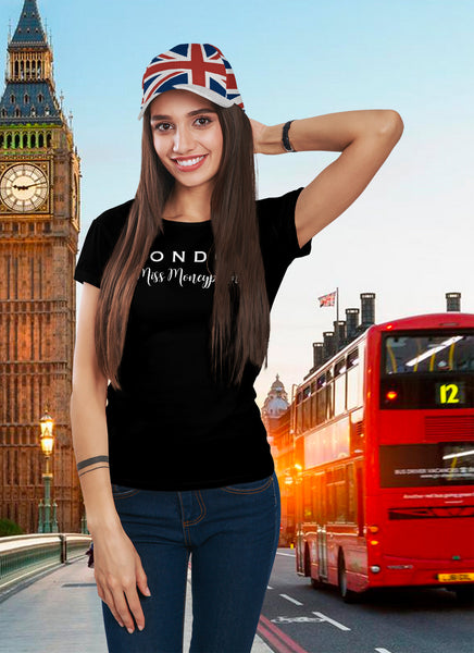 """London Miss Moneypenny""-Unisex Jersey Short Sleeve Tee"
