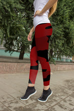Load image into Gallery viewer, NEW Red Camo Blaze HFG®-Yoga Leggings