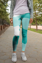 "Load image into Gallery viewer, ""Timeless Tiffany Camo ""-Yoga Leggings"