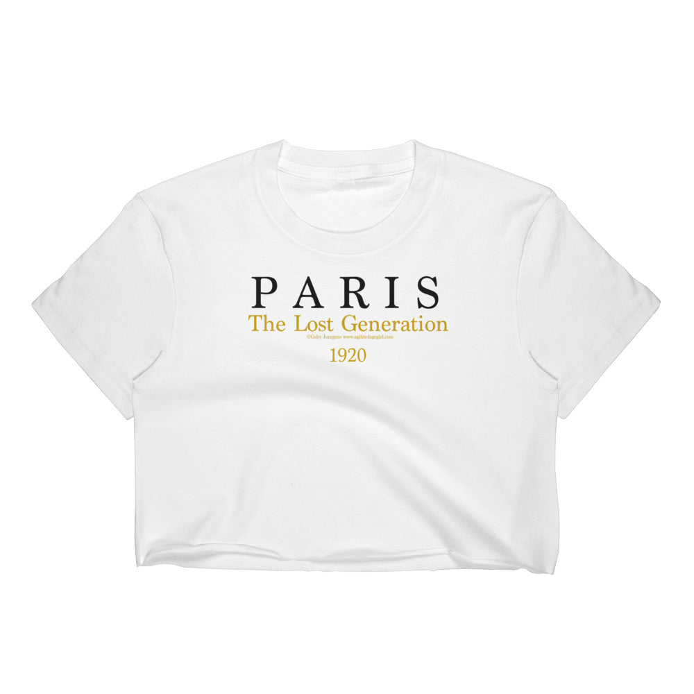 Paris - The Lost Generation - Women's Crop Top