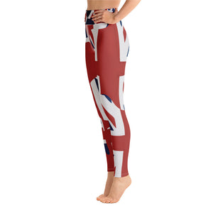 "THE LONDON COLLECTION  ""Rule Britannia!"" -Yoga Leggings"