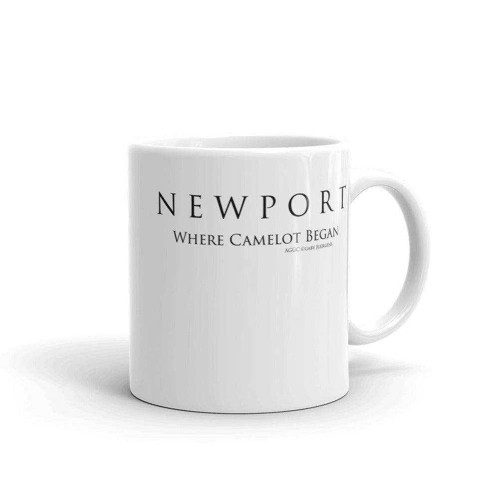 Newport Where Camelot Began - Mug