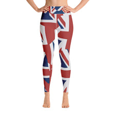 "Load image into Gallery viewer, THE LONDON COLLECTION  ""Rule Britannia!"" -Yoga Leggings"